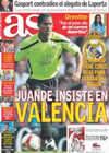 Portada diario AS del 27 de Enero de 2009