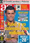 Portada diario AS del 28 de Enero de 2009