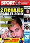 Portada diario Sport del 28 de Enero de 2009