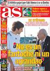Portada diario AS del 30 de Enero de 2009