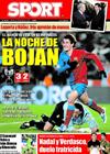 Portada diario Sport del 30 de Enero de 2009
