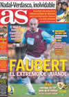 Portada diario AS del 31 de Enero de 2009
