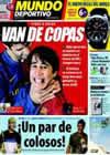 Portada Mundo Deportivo del 31 de Enero de 2009