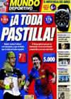 Portada Mundo Deportivo del 1 de Febrero de 2009