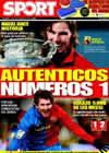 Portada diario Sport del 2 de Febrero de 2009