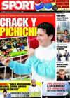 Portada diario Sport del 3 de Febrero de 2009