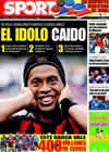 Portada diario Sport del 4 de Febrero de 2009
