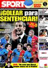 Portada diario Sport del 5 de Febrero de 2009