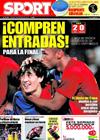 Portada diario Sport del 6 de Febrero de 2009