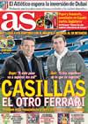 Portada diario AS del 7 de Febrero de 2009