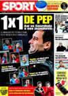 Portada diario Sport del 7 de Febrero de 2009
