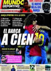 Portada Mundo Deportivo del 8 de Febrero de 2009