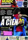Portada Mundo Deportivo del 8 de Febrero de 2009