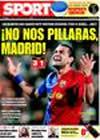 Portada diario Sport del 9 de Febrero de 2009