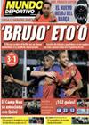 Portada Mundo Deportivo del 9 de Febrero de 2009