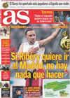 Portada diario AS del 10 de Febrero de 2009