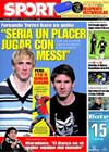 Portada diario Sport del 11 de Febrero de 2009