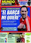 Portada Mundo Deportivo del 11 de Febrero de 2009