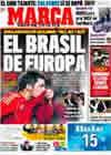 Portada diario Marca del 12 de Febrero de 2009