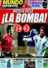 Portada Mundo Deportivo del 12 de Febrero de 2009