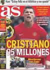 Portada diario AS del 14 de Febrero de 2009