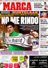 Portada diario Marca del 14 de Febrero de 2009