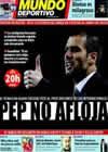 Portada Mundo Deportivo del 14 de Febrero de 2009