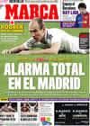 Portada diario Marca del 15 de Febrero de 2009