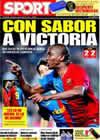 Portada diario Sport del 15 de Febrero de 2009
