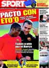 Portada diario Sport del 17 de Febrero de 2009