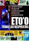 Portada Mundo Deportivo del 17 de Febrero de 2009