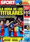 Portada diario Sport del 18 de Febrero de 2009