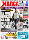 Portada diario Marca del 19 de Febrero de 2009