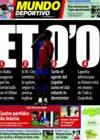 Portada Mundo Deportivo del 19 de Febrero de 2009