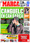 Portada diario Marca del 20 de Febrero de 2009