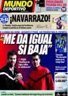 Portada Mundo Deportivo del 20 de Febrero de 2009