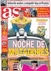 Portada diario AS del 21 de Febrero de 2009