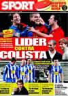 Portada diario Sport del 21 de Febrero de 2009
