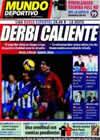 Portada Mundo Deportivo del 21 de Febrero de 2009