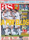 Portada diario AS del 22 de Febrero de 2009