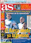 Portada diario AS del 23 de Febrero de 2009