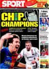 Portada diario Sport del 23 de Febrero de 2009