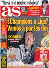 Portada diario AS del 24 de Febrero de 2009