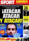 Portada diario Sport del 24 de Febrero de 2009