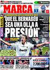 Portada diario Marca del 25 de Febrero de 2009