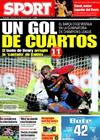 Portada diario Sport del 25 de Febrero de 2009