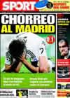 Portada diario Sport del 26 de Febrero de 2009
