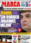 Portada diario Marca del 28 de Febrero de 2009