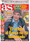 Portada diario AS del 3 de Marzo de 2009