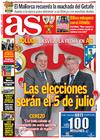 Portada diario AS del 4 de Marzo de 2009